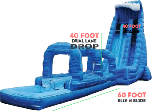 inflatable water slides for rent san diego