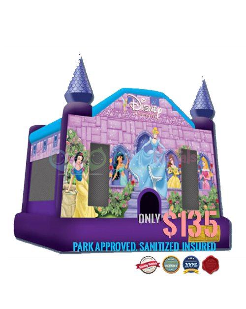 princess-castle-jumper-rental-san-diego