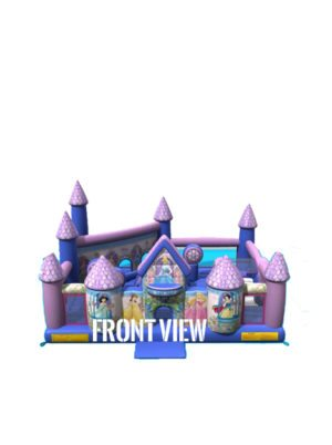 princess-palace-toddler-jumper-rental-san-diego-front-view