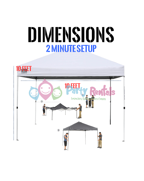 10×10 Canopy Tent