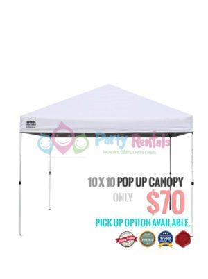 10x10 canopy tent rental san diego
