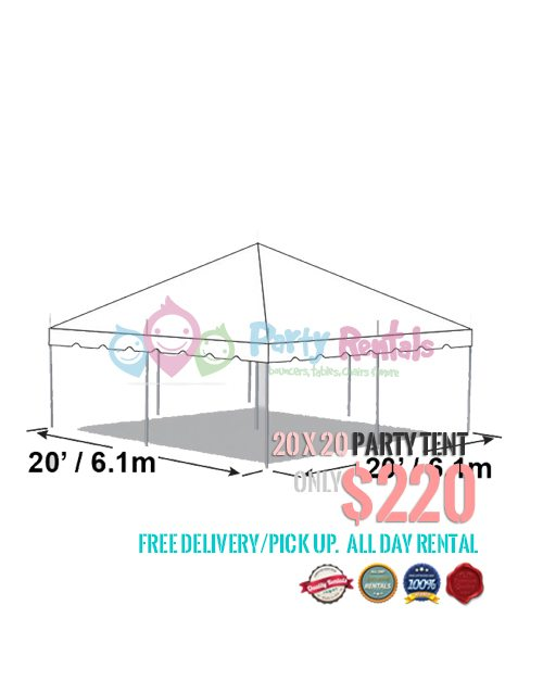 20×20 Party Tent