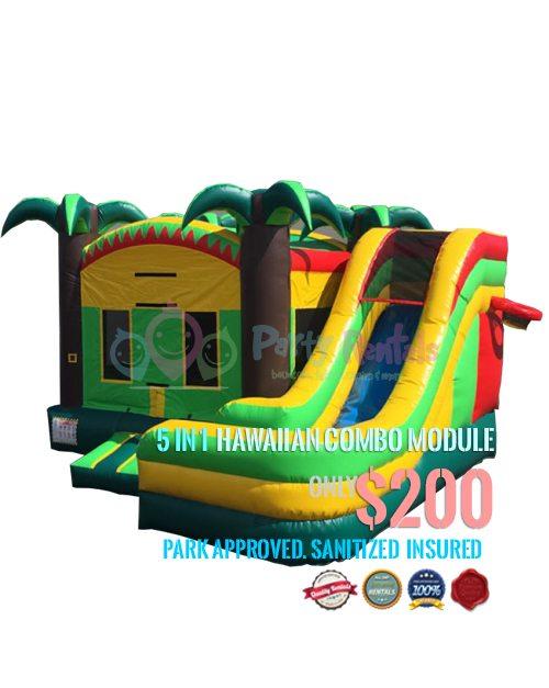 5-in-1-hawaiian-combo-jumper-rental-san-diego-ca