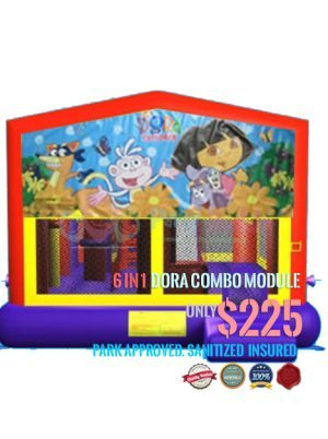 6-in-1-dora-the-explorer-jumper-rental-san-diego-ca