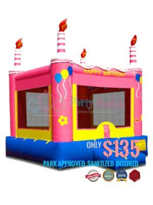 pink-birthday-cake-jumper-rental-san-diego-ca
