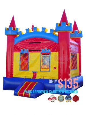 fun-colored-castle-jumper-rental-in-san-diego