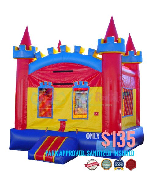 fun-colored-castle-jumper-rental-in-san-diego