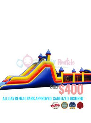 obstacle-castle-slide-jumper-rental