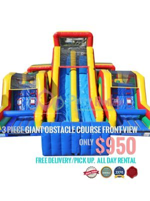 3-piece-giant-obstacle-course-jumper-rental-front-view