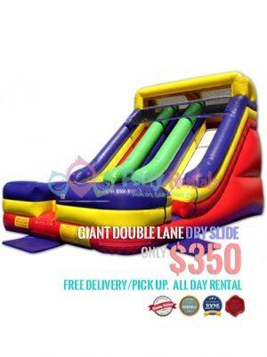 giant-double-lane-dry-slide-jumper-rental-san-diego