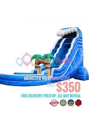 monster-wave-dry-slide-jumper-rental