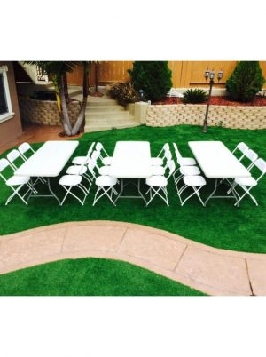 3 tables with 18 chairs package