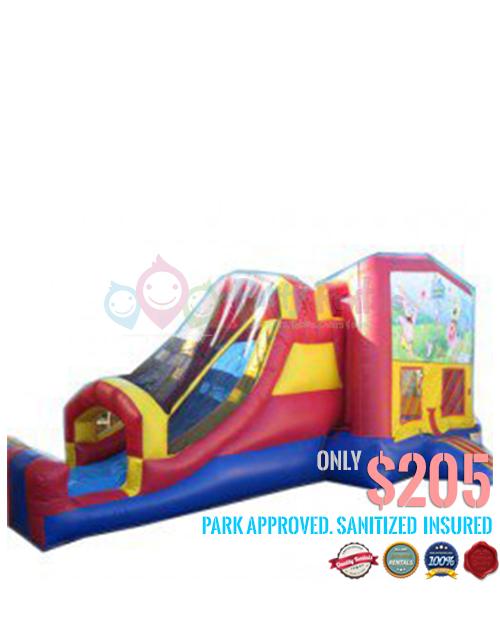 5 IN 1 slide-combo-jumper