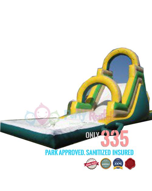 arch water slide