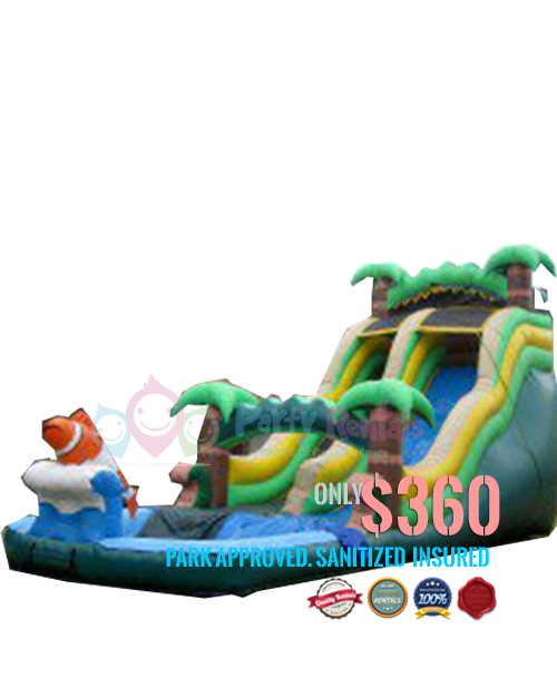 Big Water Slide For Rent In San Diego