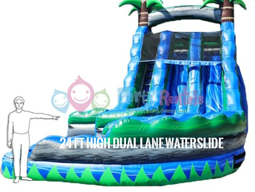 24-feet-dual-lane-water-slide-rental-size