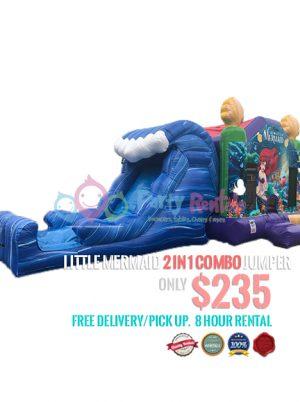 little-mermaid-jumper-with-a-slide-rental-san-diego