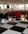 black and white dance floor rental san diego
