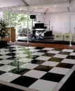 dance-floor-black-and-white san diego rental