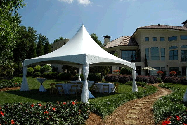 Used Embroidery Machines >> 20ft x 20ft High Peak Tent Rentals by Party Rentals Online