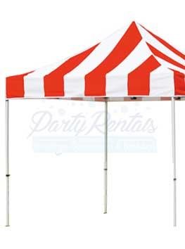 carnival-tent-10ftx10ft-rental-san-diego RED