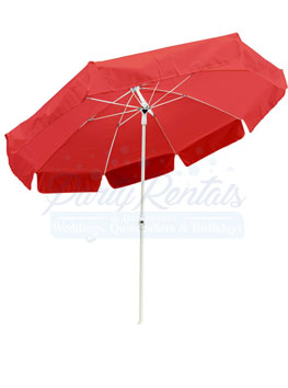 6ft-red-umbrella-rental-san-diego