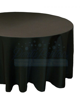 black-round-tablecloth-rental-san-diego